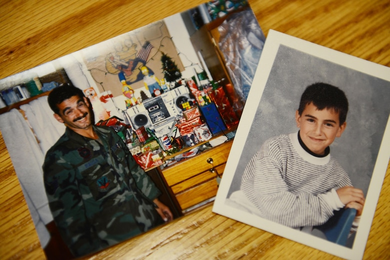 While deployed to Operation Desert Storm in 1990, retired Master Sgt. Ben Rausa and then 8-year-old Stephen Rausa, (not related) began exchanging letters. (U.S. Air Force photo/Mike Raynor)