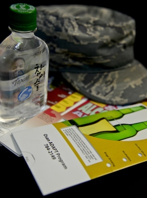 Osan Air Base has the highest amount of referrals to the Alcohol and Drug Abuse Prevention and Treatment program across the entire Air Force, according to Maj. Relinda Hatcher, 51st Medical Operation Squadron ADAPT Program manager. The ADAPT program here offers a variety of services to assist with substance abuse prevention, education and treatment. (U.S. Air Force photo by Senior Airman Kristin High/Released)