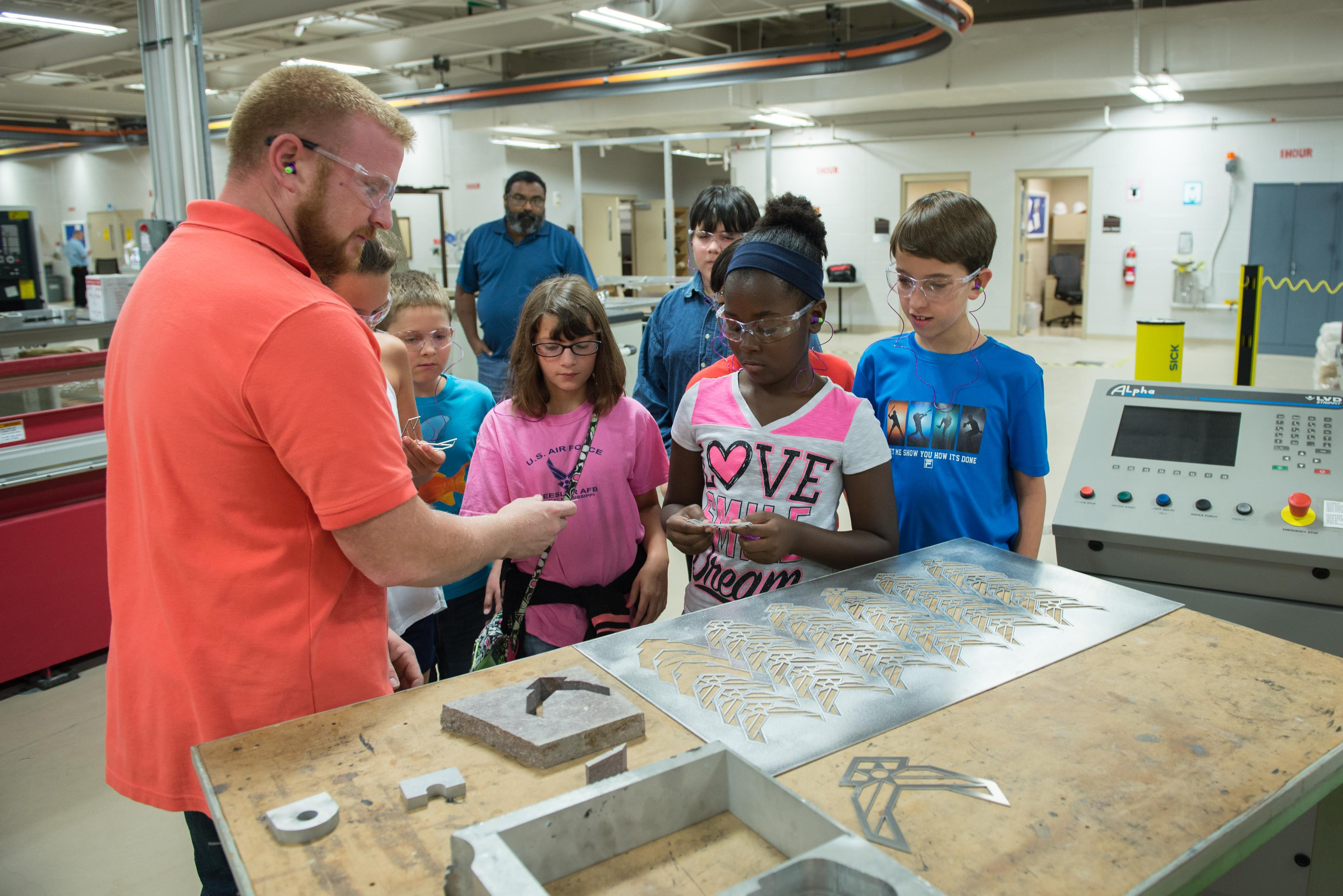 Science, Technology, Engineering, and Mathematics Camp