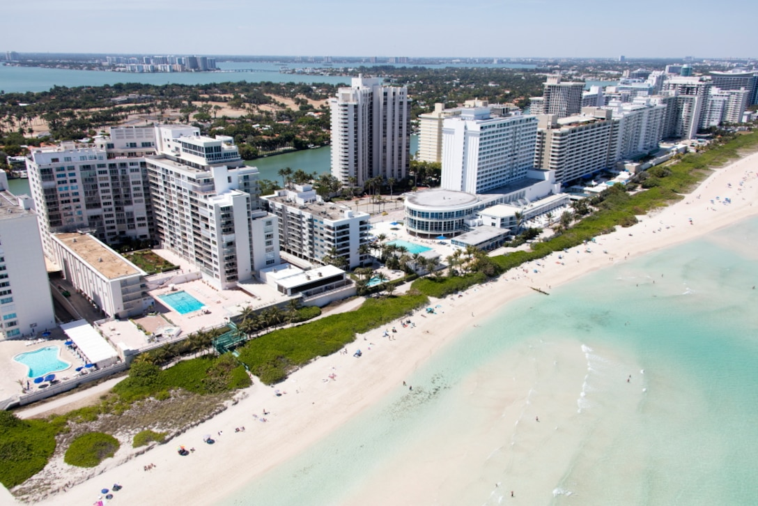 A critically eroded area in the 5400 block of Collins Avenue in Miami Beach will be renourished with beach-quality sand from the south end of the Carriage House Condominium to the north end of the Castle Beach Condominium. The properties immediately to the north and south will also be part of the construction area.