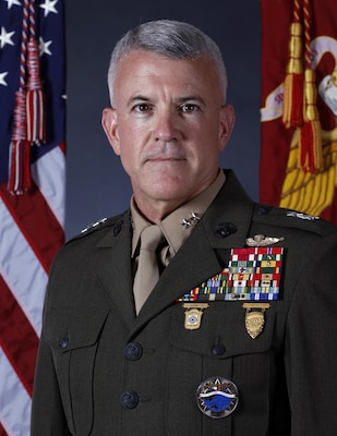 Major General James S. Hartsell, USMC