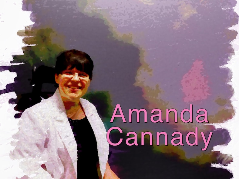 Getting to know you: Amanda Cannady (U.S. Air Force Illustration by Claude Lazzara)