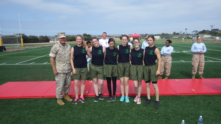 The Sun Valley JROTC Fitness team recently returned from this year's annual National High School Youth Physical Fitness Championships in San Diego. This is the eighth year that Sun Valley has sent their JROTC team to the National Championship. Both teams trained extremely hard for this year's competition and proved this in their results. The girls' team finished 1st in the nation for the second year in a row. The boys performed well, but missed placing this year.