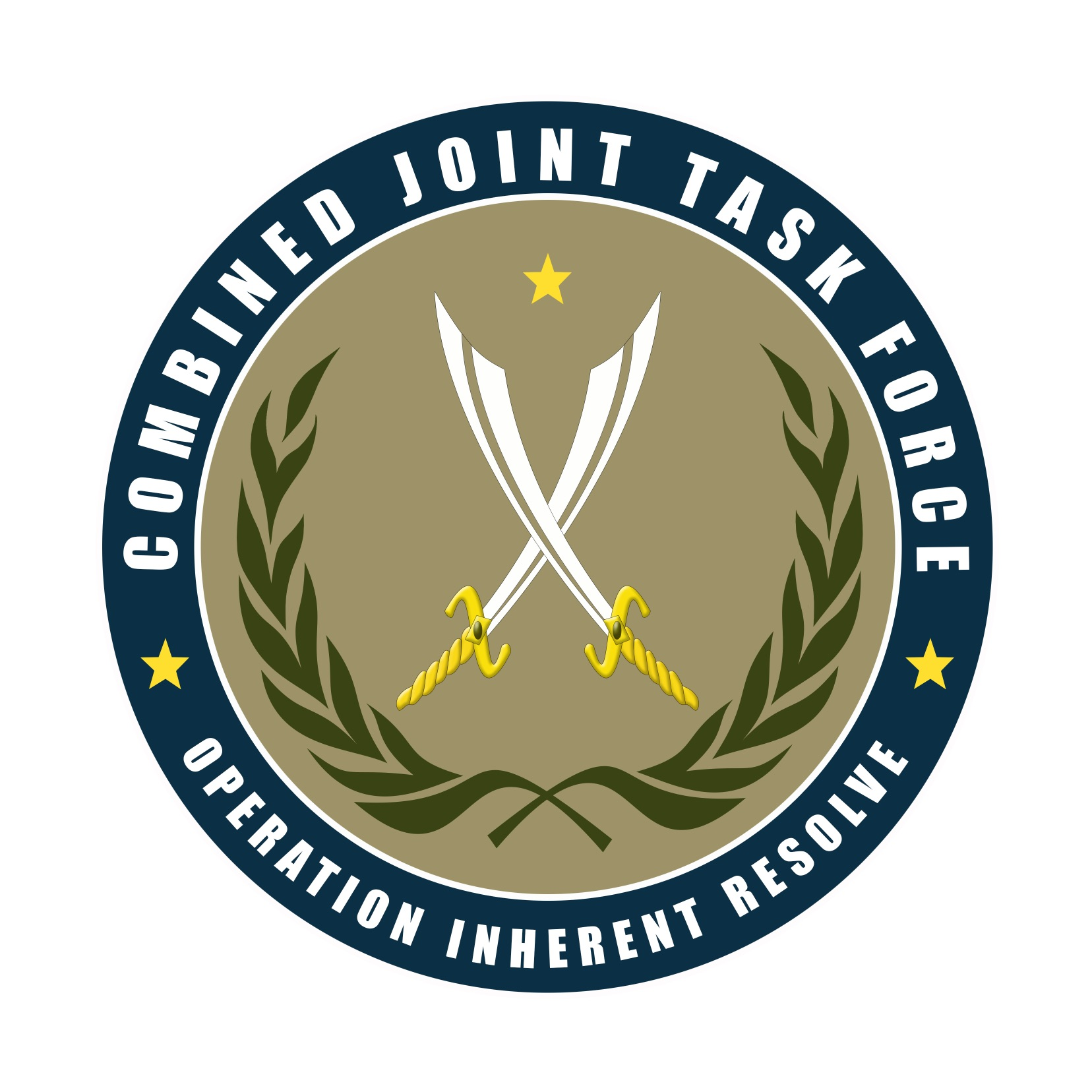 Inherent Joint Resolve Logo Combined Operation Force Task