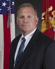 Steven Grozinski, director of Adiministration and Resource Management Division, poses for a command portrait at the Pentagon, Arlington, Va., June 30, 2016. (U.S. Marine Corps photo by Pfc. Alex A. Quiles/Released)