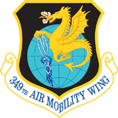 349th Air Mobility Wing patch