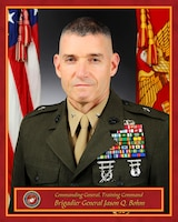 Brigadier General Jason Q. Bohm, Training Command, Quantico, VA