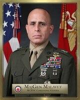Major General Joaquin F. Malavet Biography Photo