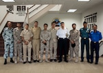 Students in the Navy Supply Corps School's International Leadership Executive Advanced Development course