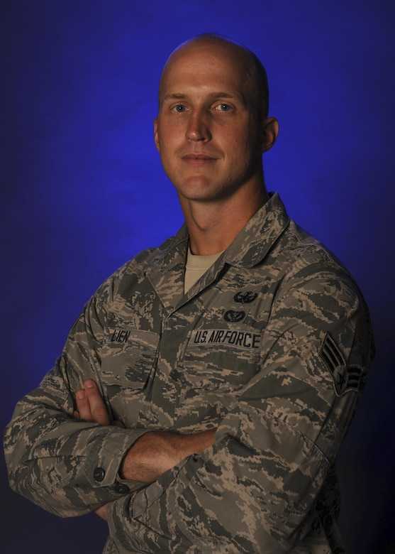 Senior Airman Colton Lien, a 19th Civil Engineer Squadron explosive ordinance disposal technician, and his friends saved a woman from drowning June 25, 2016, at the Ouachita River Whitewater Park in Malvern, Ark. He grabbed a woman from a whirlpool in the river, and with the help of others, paddled her to safety and performed CPR until she regained consciousness. (U.S. Air Force photo/Staff Sgt. Regina Edwards)
