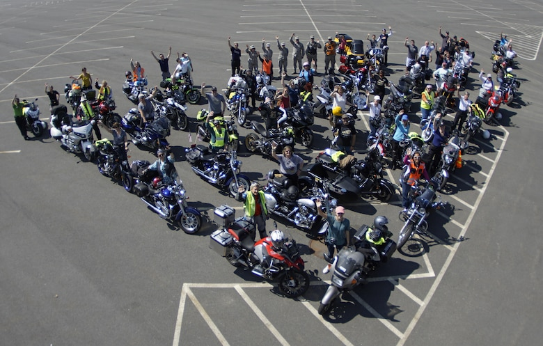 Nearly 75 members of the local community, family, friends, military members and motorcycle enthusiasts came together to kick off a cross-country motorcycle journey in celebration of the 100th anniversary of the Van Buren sisters ride from New York to California in 1916.