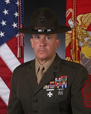Sergeant Major Chasen Getty Gt Marine Corps Recruit Depot