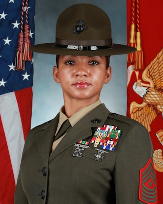 Sgt Maj Tricia Smith Leavy Gt Marine Corps Recruit Depot