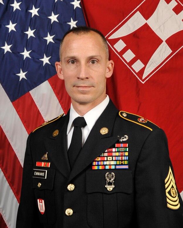 Command Sgt. Maj. Ty V. Emmans