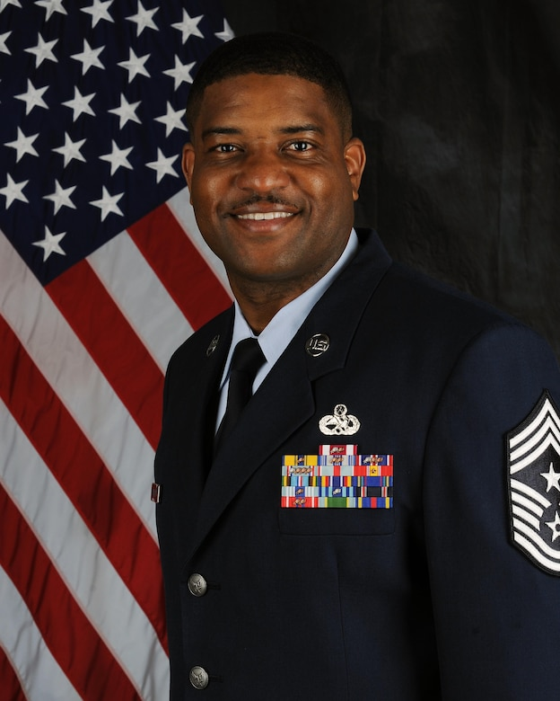 Chief Master Sgt. Phillip Easton official photo. (U.S. Air Force photo)