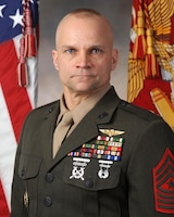 Sgt. Maj. Charles A Metzger, Marine Corps Air Station New River sergeant major