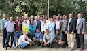 Members of the Ethiopian Public Health Institute pose for a photo with members of the Center for Disease Control and Prevention in Ethiopia, February 2016. (Courtesy Photo)