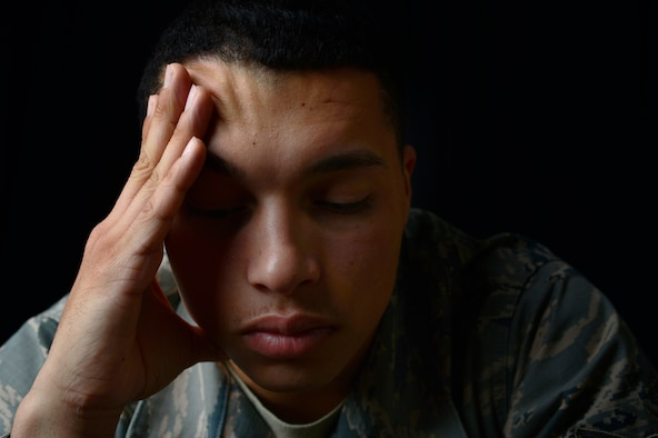 Post-Traumatic Stress Disorder is a significant or extreme emotional or psychological response to a shocking, dangerous or traumatic event. It affects approximately seven percent of the United States population and nearly 12-18 percent of combat veterans deployed to Iraq and Afghanistan. (U.S. Air Force photo by Senior Airman Christian Clausen/Released)