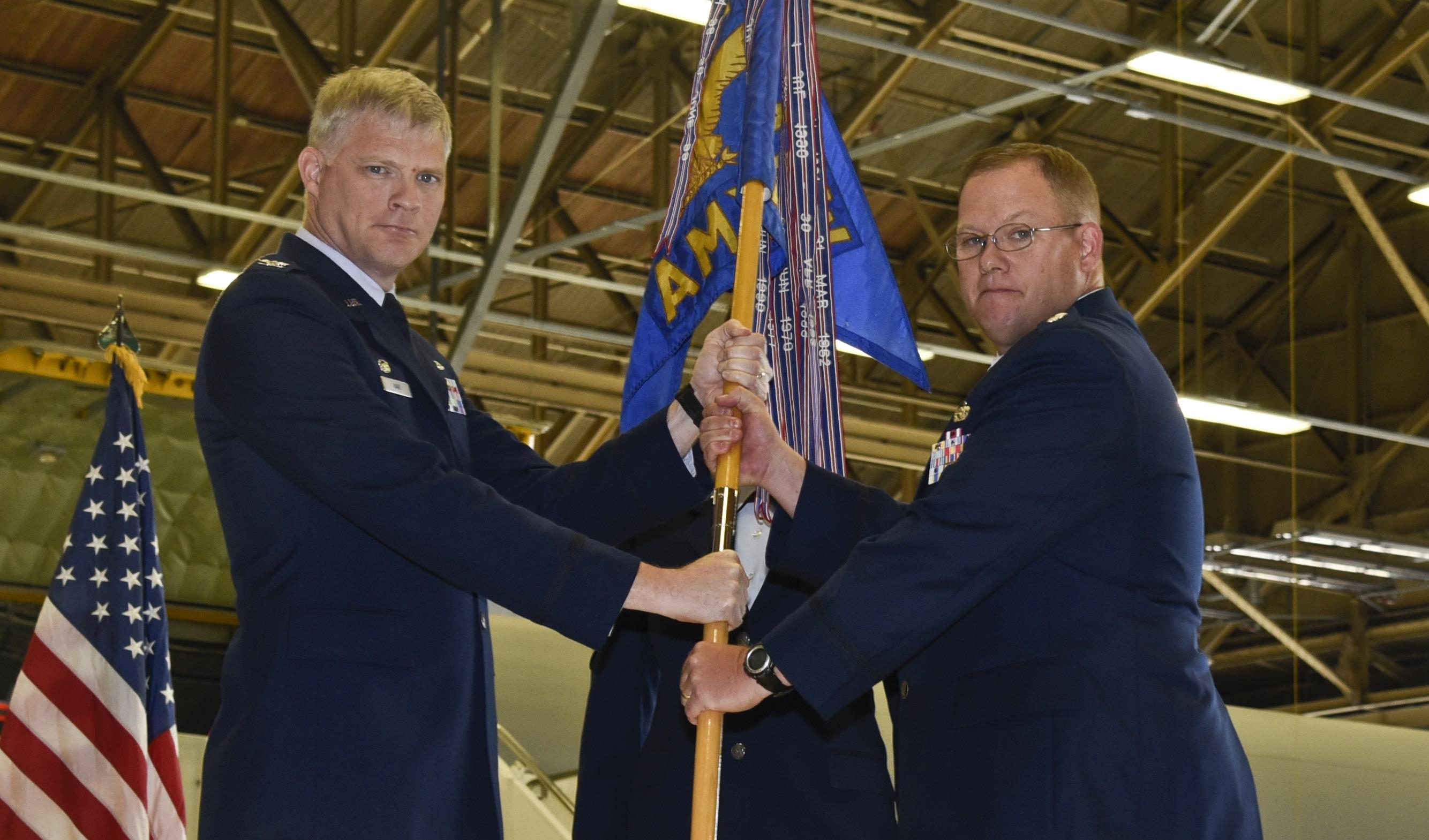 92nd AMXS Command Changes Hands