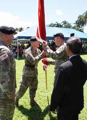 Lt. Col. Hoyman Becomes 70th Honolulu District Commander
