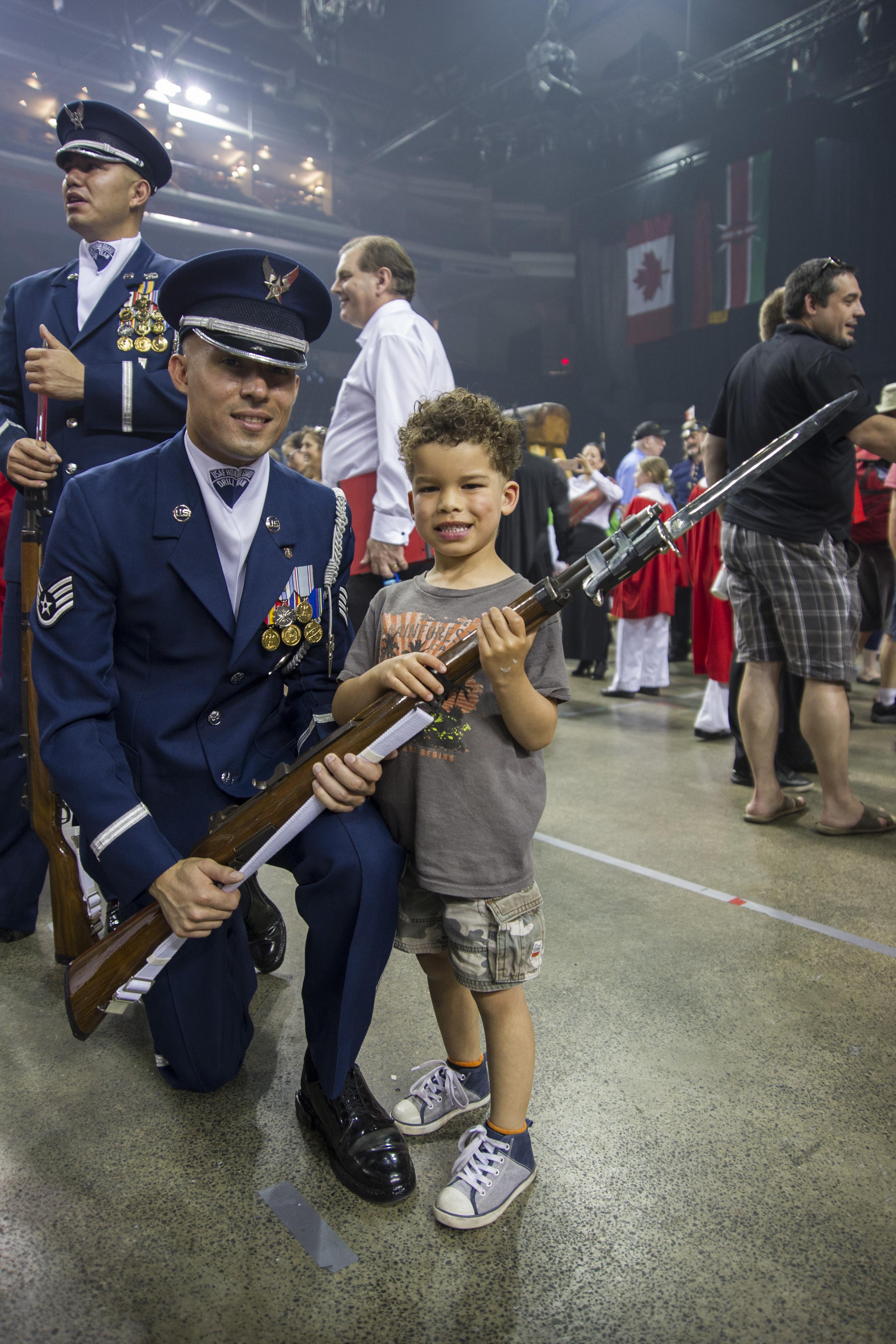 USAF Honor Guard concludes Nova Scotia performances