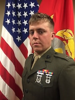 Captain Benjamin D. Mabee, Battery D, 2d Battalion, 14th Marines commanding officer