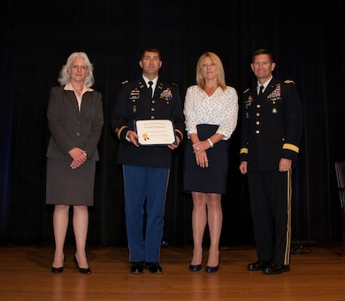 NASHVILLE, Tenn. (July 11, 2016) – A team from the U.S. Army Corps of Engineers Nashville District received the 2015 Department of Defense Value Engineering Award during a ceremony at the Pentagon June 28, 2016.