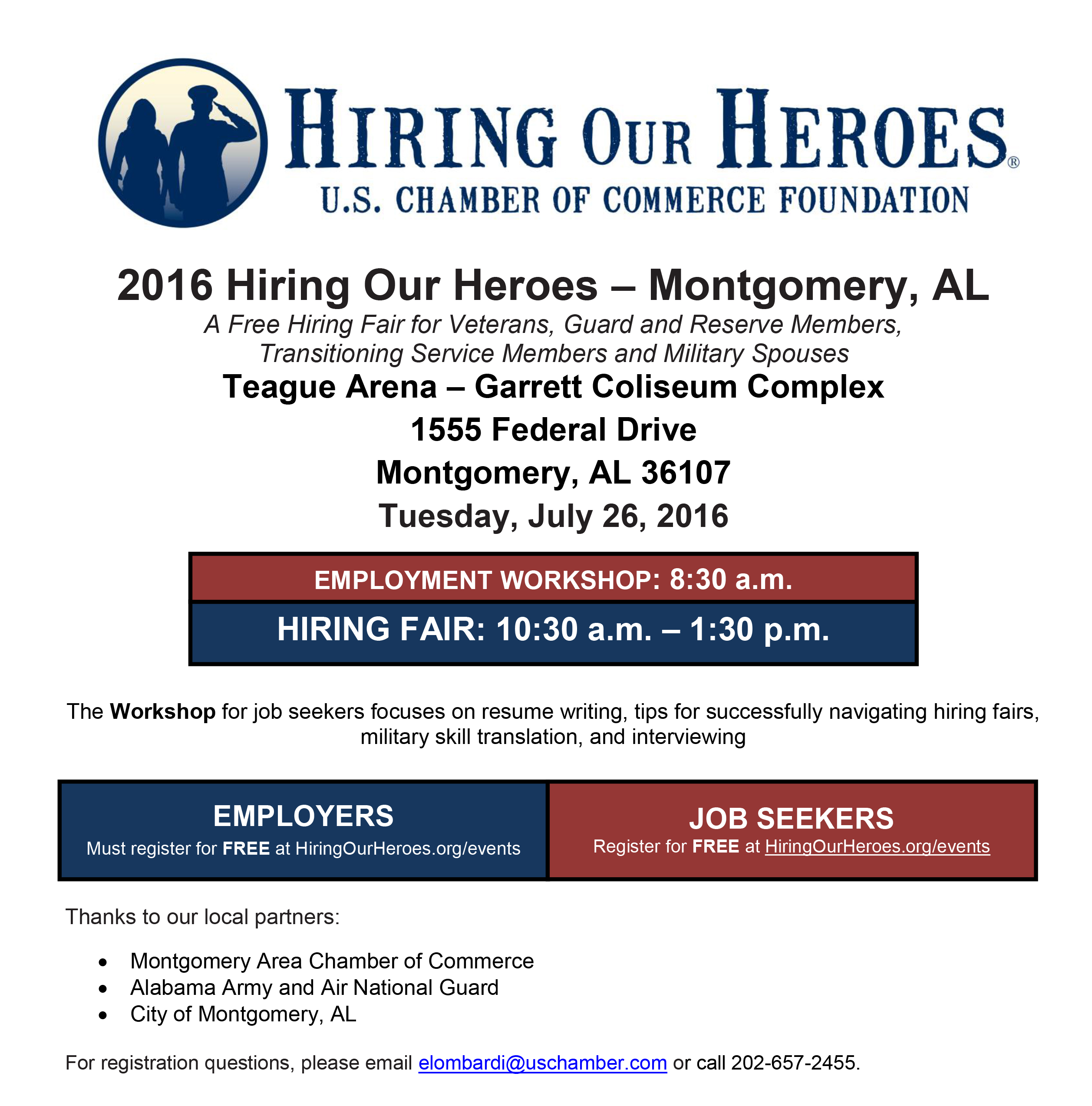 Hiring Our Heroes Job Fair Supports Veterans Service Members