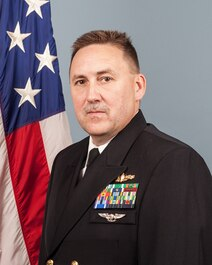 LCDR Robert Wiley, Executive Officer at Surface Combat Systems Center Wallops Island, VA.