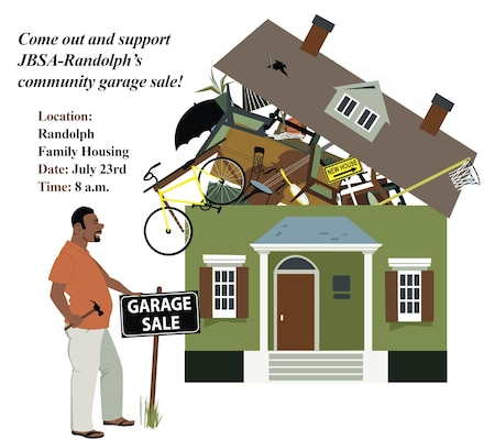 Randolph Family Housing Schedules Community Garage Sale Joint Base