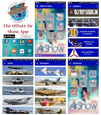 For 2016 there is a new App to help patron learn more about and find their way around the Offutt Air Show. Learn all about the features of this new App to include performers, static displays, maps, directions and more. (Photo Illustration)