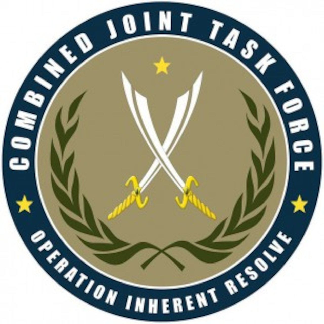Combined Joint Task Force Operation Inherent Resolve logo. DoD graphic