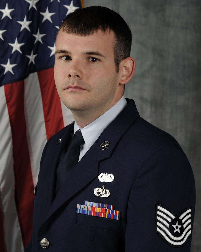 Tech Sgt. Kyle Scott, Non-Commissioned Officer in Charge, is a former active-duty F-15 Dedicated Crew Chief.