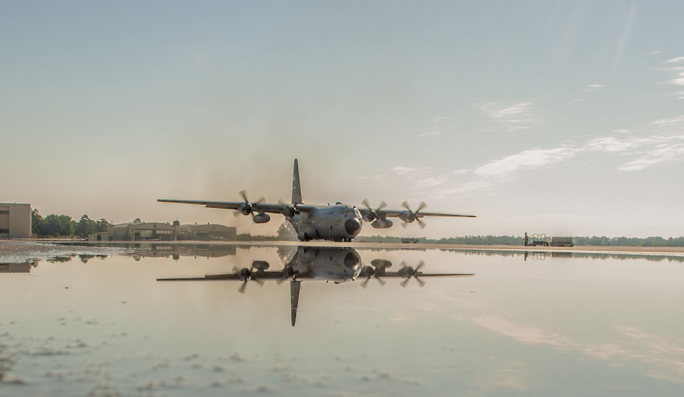 Final 440th C-130 Departs Pope > 22nd Air Force > Article