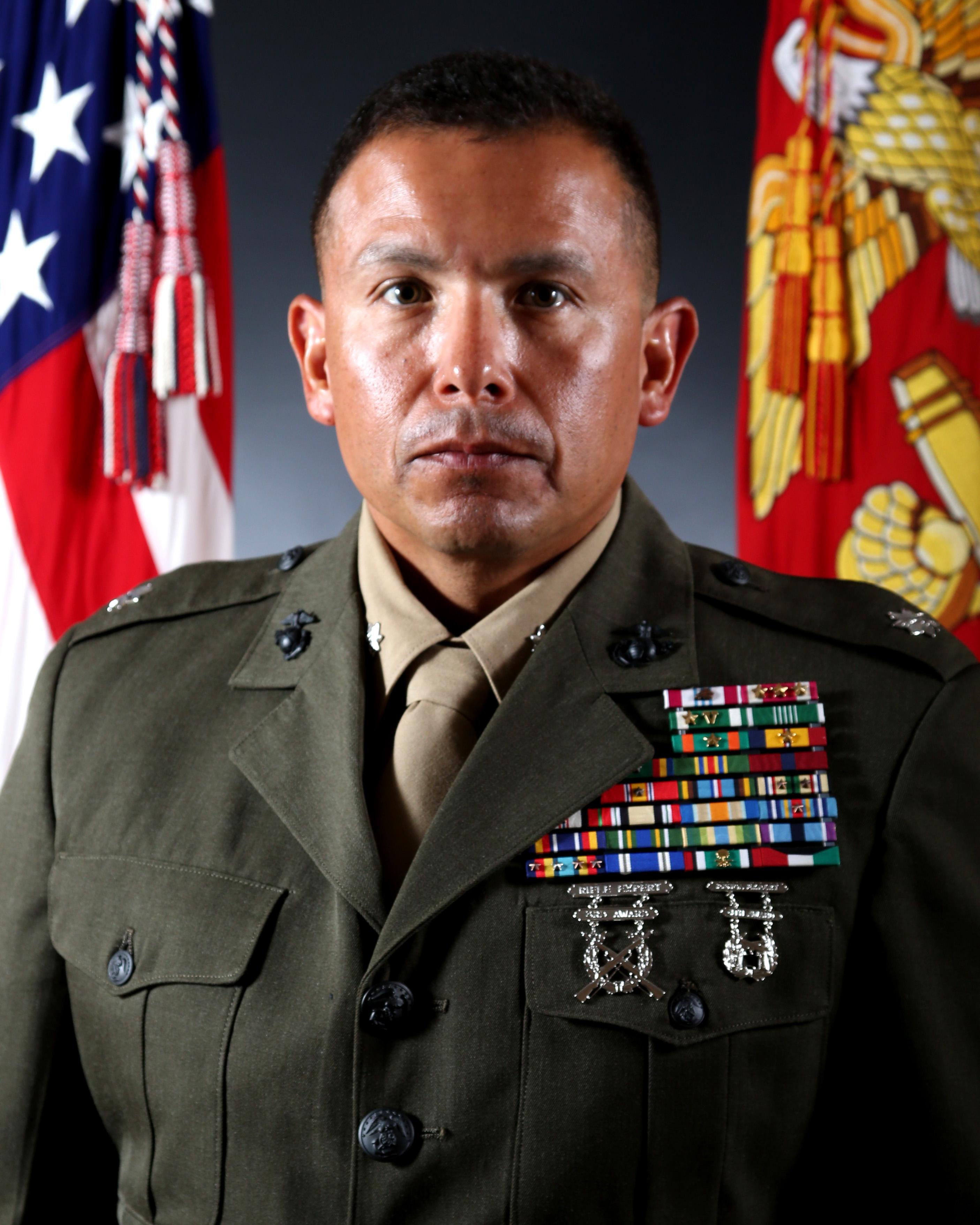 Lieutenant Colonel Andrew V. Martinez > II Marine ...