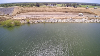 The Lewisville Lake Dam 161-foot Embankment slide repairs are well underway, placement of bedding and riprap on the access ramp continues. Estimated completion date is mid-August 2016.