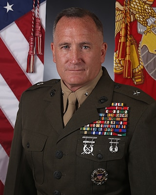 Brigadier General William M Jurney Gt Marine Corps Recruit