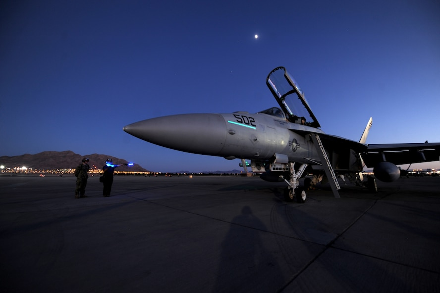 Maintainers assigned to Electronic Attack Squadron-209, EA-18G, NAS Whidbey Island,