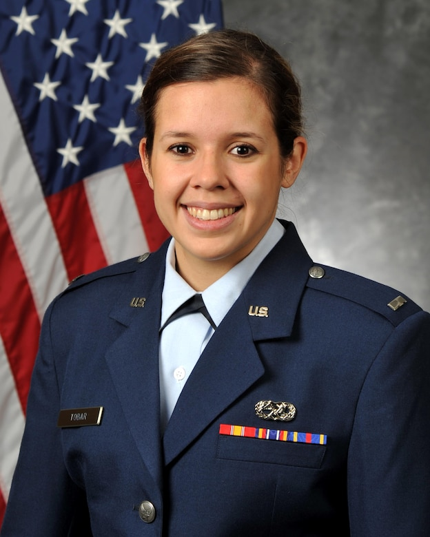 1st Lt Anais Tobar, 4th Aircraft Maintenance Squadron, Seymour Johnson AFB, N.C.