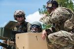 Combating international crime on agenda as partners tour Florida Guard facility