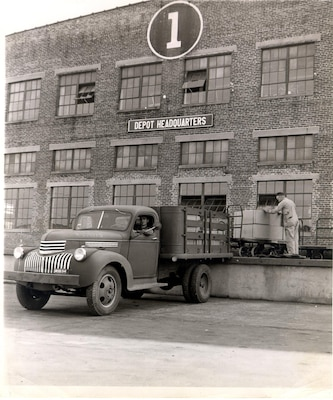 Warehouse #1, Depot Headquarters from 1918-1952.