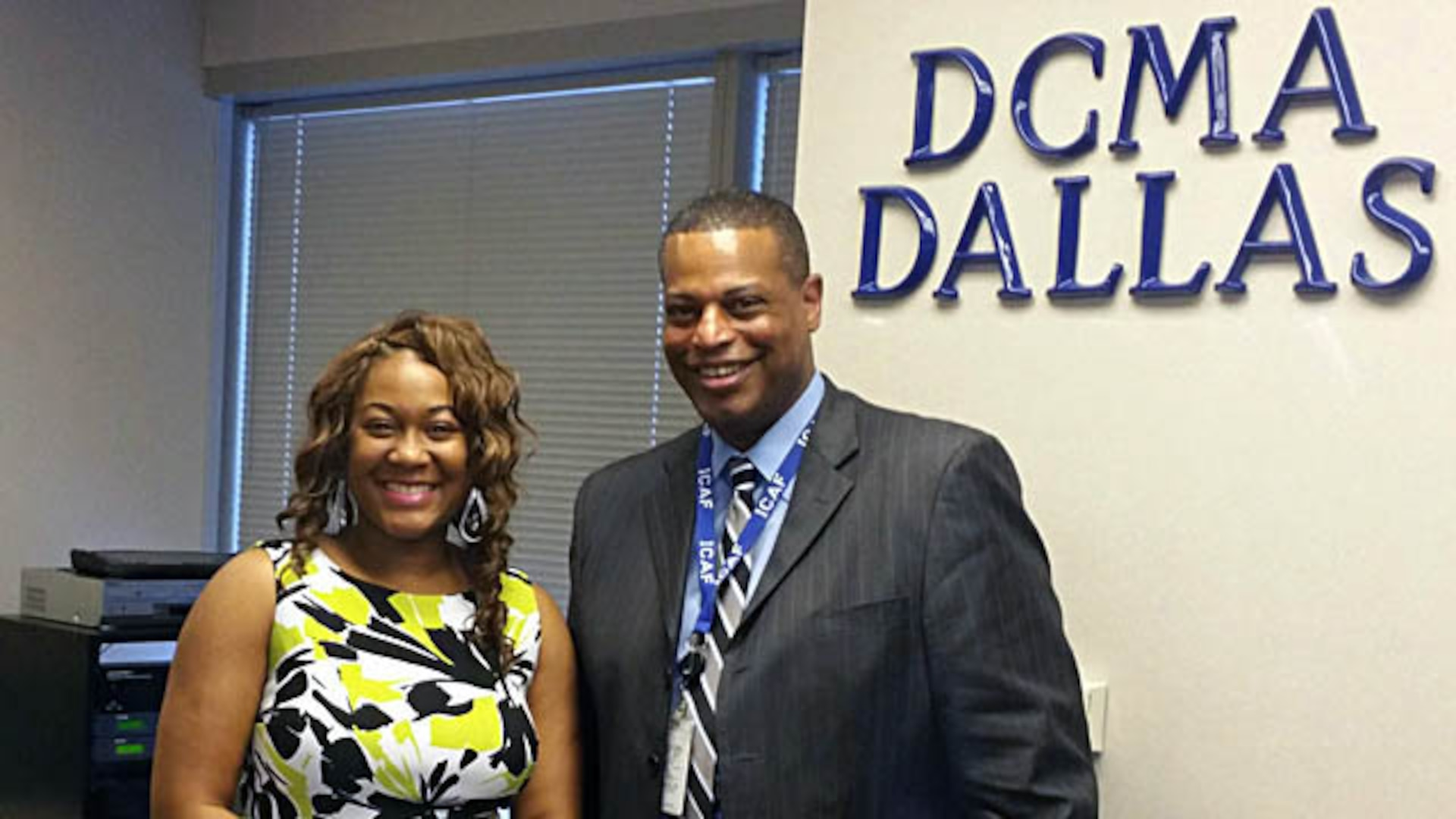 "Erica Benjamin, a Defense Contract Management Agency Dallas quality assurance specialist, shadowed Rodney Mayo, the office's deputy director, and other senior leaders during her recent leadership shadowing experience. She hoped to gain ""insight into senior leader daily tasks and activities."" Programs like this support the agency's Strategic Plan Initiative 3.2.2 — Establishing and Sustaining a Culture of Mentoring."