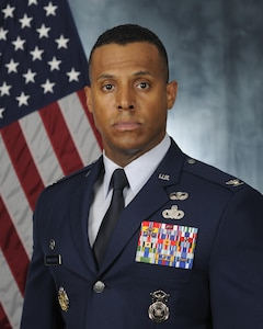 Col. Victor Moncrieffe, 11th Security Forces Group commander