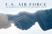 The 11th Wing Equal Opportunity office put together an official Alternate Dispute Resolution Plan for Joint Base Andrews, Md., and was signed by 11th WG leadership June 9, 2016. The Air Force ADR program is a means of resolving disputes early and at the lowest possible level. (U.S. Air Force graphic by Airman 1st Class Philip Bryant)