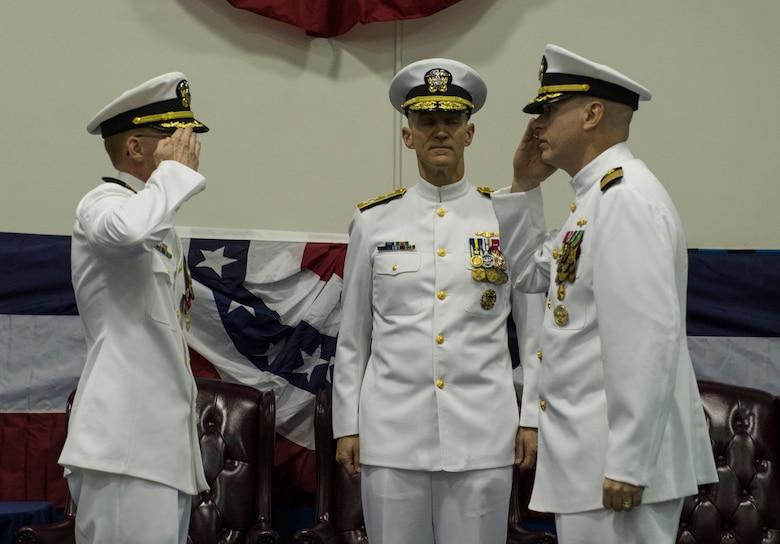 NPTU salutes new commander > Joint Base Charleston > News
