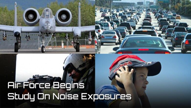 Noise Exposure (AFMS graphic)