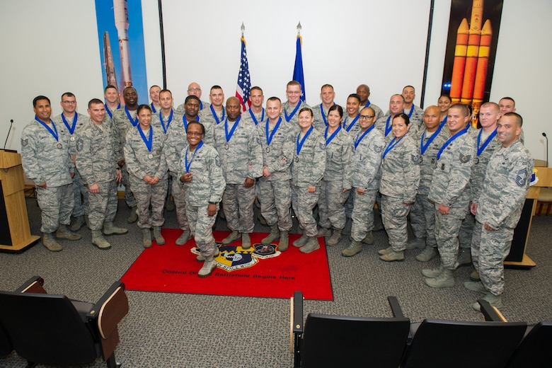 Congratulations to Patrick-Cape's newest graduates of the Senior Noncommissioned Officer Professional Enhancement Course July 21, 2016, at Patrick Air Force Base, Fla. SNCOPEC is a five-day course designed to augment and reinforce information taught in basic military training, technical training, ancillary training, professional military education, and job experience. SNCOPEC provides students with an in-depth view of their increased supervisory, leadership, managerial responsibilities, and make the transition to senior NCO status more effective. (U.S. Air Force photo/Benjamin Thacker)
