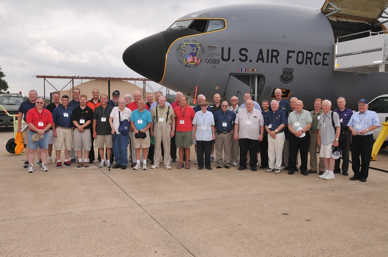 National Association of Priest Pilots tour the 171st Air Refueling Wing near Pittsburgh July 13, 2016 (U.S. Air National Guard Photo by Tech. Sgt. Michael Fariss)