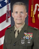 Major General Carl E. Mundy, III, U.S. Marine Corps Forces Special Operations Command commanding general