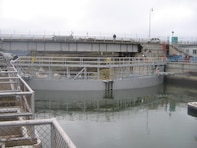 The Dalles navigation lock is located about 190 miles inland from the Pacific Ocean. It is part of a system of dams on the Columbia and Snake rivers that help move about 10 million tons of cargo each year.